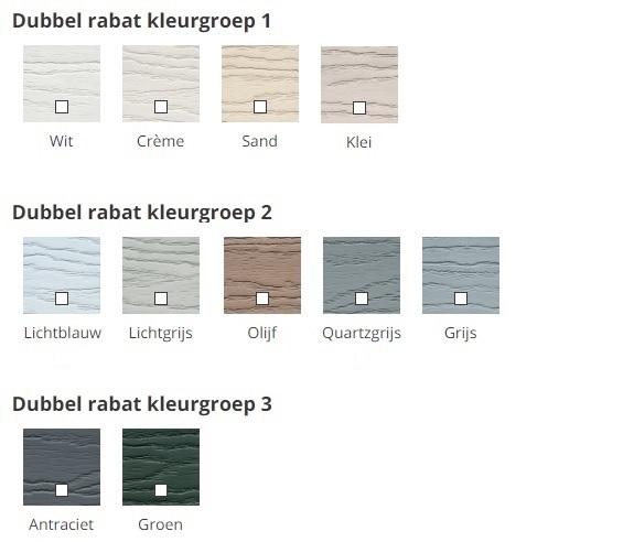 Eurotexx rabat kleuren