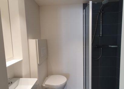Voorbeeld indeling sanitair