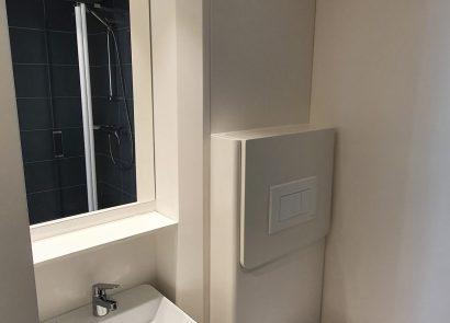 Voorbeeld uitvoering privé sanitair